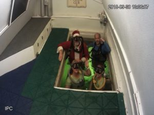 Even Santa Claus has visited Jules' Undersea Lodge