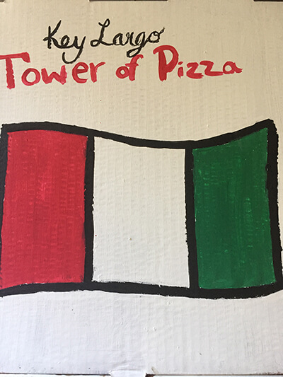 Our guests love Tower of Pizza